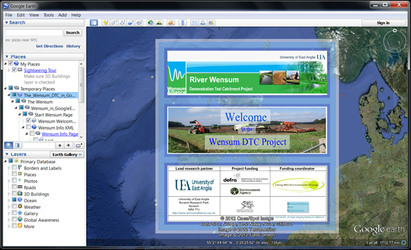 Wensum Google Earth Project