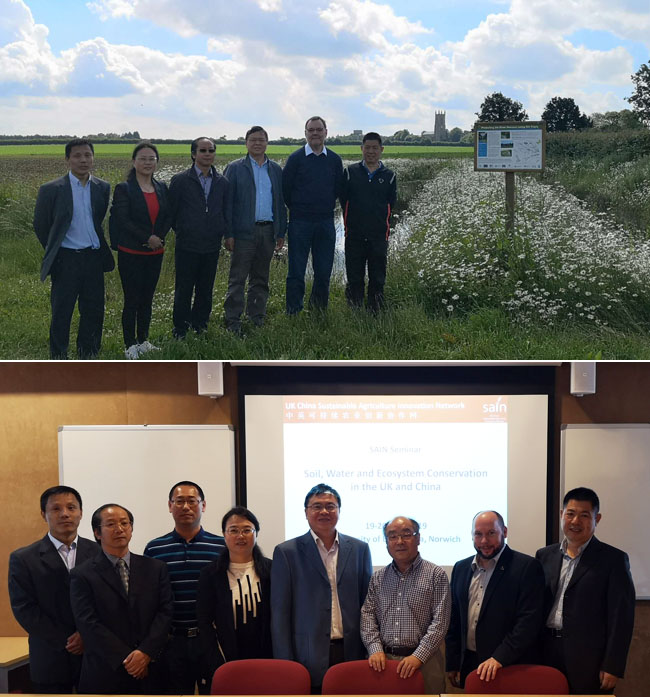 Delegation from the Department of Soil and Water Conservation of the Chinese Ministry of Water Resources